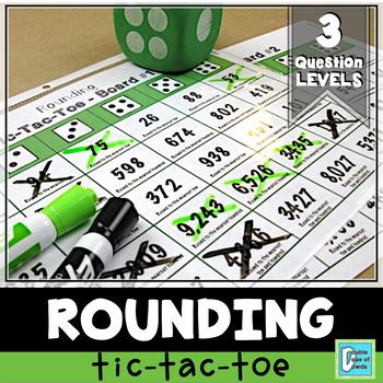 Rounding Tic-Tac-Toe Game