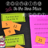 Rounding To Tens Sorting Activity