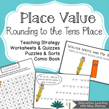 Rounding To Tens Teaching Strategy and Games