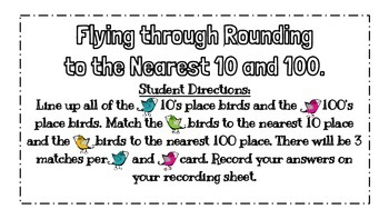 Rounding To The Nearest 10 & 100