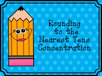 Rounding To The Nearest Ten Concentration
