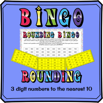 3 Digits Number Bingo Cards Worksheets & Teaching Resources ...