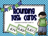 Rounding To The Thousands, Task Cards