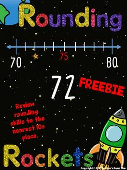 Rounding To the 10s Place - FREEBIE
