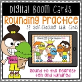 Rounding To the Nearest 10 and 100 Digital Boom Cards