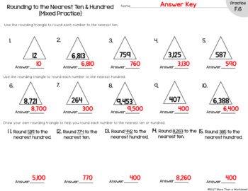 Rounding Triangle--EASY Rounding Technique!