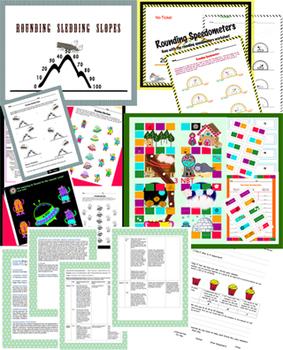 Rounding Unit - Games, Activities, Assessment