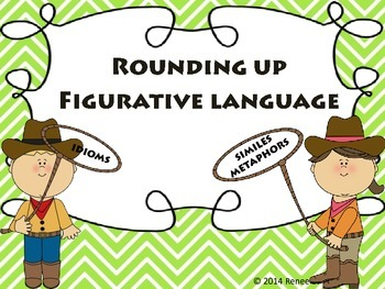 Rounding Up Figurative Language (Idioms, Metaphors, Similes)