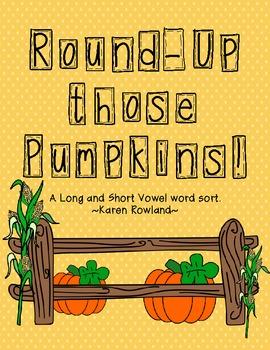 Rounding Up Those Pumpkins!
