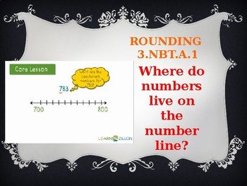 Rounding Vocabulary and Whiteboard Practice Powerpoint