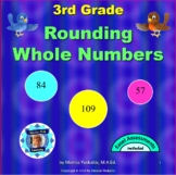 3rd Grade Rounding Whole Numbers Powerpoint Lesson