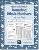 Rounding Whole Numbers Activity Pack