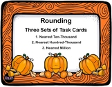 Rounding Whole Numbers - CCSS.MATH.CONTENT.4.NBT.A.3- Fall Theme
