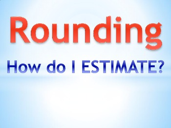 Rounding Whole Numbers Charts