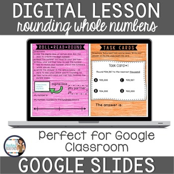 Rounding Whole Numbers Google Interactive Lesson