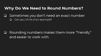 Rounding Whole Numbers Lesson