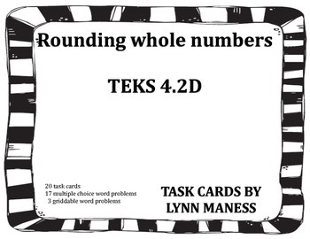 Rounding Whole Numbers   TEKS 4.2D