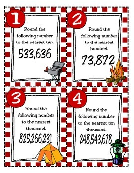 Rounding Whole Numbers: Through the Hundred Thousands Place (TEKS 4.2D)