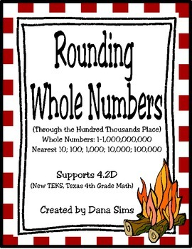 Rounding Whole Numbers: Through the Hundred Thousands Plac