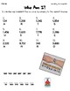 Rounding Whole Numbers Who Am I? Inventor Worksheets 5 Pack