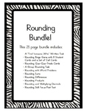 Rounding Whole Numbers and Decimals Bundle-Games/Written Tasks/Group Activities