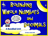 Rounding Whole Numbers and Decimals (Bundled Unit)