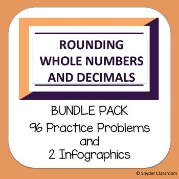 Rounding :  Whole Numbers and Decimals Pack