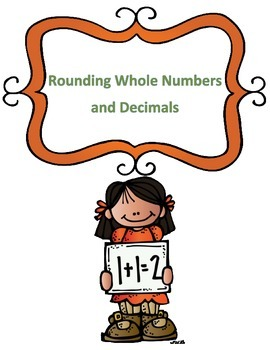 Rounding Whole Numbers and Decimals Worksheets
