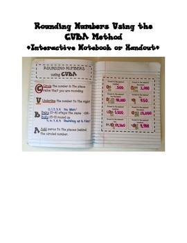 Rounding Whole Numbers using CUBA Method