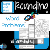 Rounding Word Problems 3rd Grade