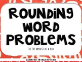 Rounding Word Problems (Task Cards)