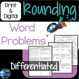 Rounding Word Problems 4th Grade