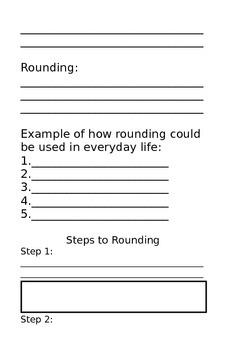 Rounding Workbook