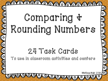 Rounding and Comparing Numbers