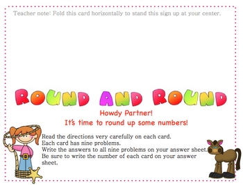 Rounding and Estimating Center