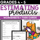 Rounding and Estimating Multiplication Math Activities