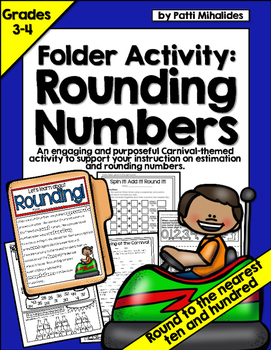 Rounding and Estimating Numbers: a file folder activity fo