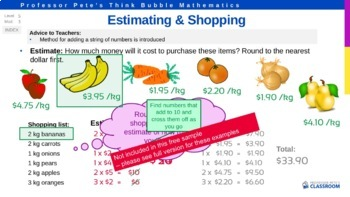 Rounding and Estimating PPT (Lesson 1) FREE