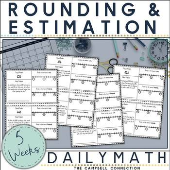 Rounding and Estimation Daily Math