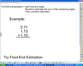 Rounding and Estimation Strategies smartboard