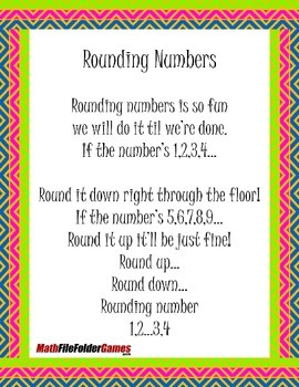 Rounding and Multiplication {Mental Math Game}