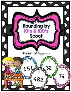 Rounding by 10's & 100's Scoot