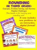 Rounding in Third Grade: Concepts, Problem Solving, and Mystery Number Challenge