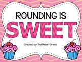 Rounding is SWEET Task Cards and Game 4.NBT.A.3