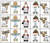 Rounding numbers Christmas theme Reindeer Roundup