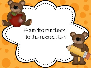 Rounding numbers to the nearest ten- powerpoint