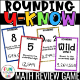 Rounding Game for Math Centers or Stations: U-Know {Whole