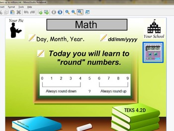 Rounding of whole numbers  TEKS 4.2D