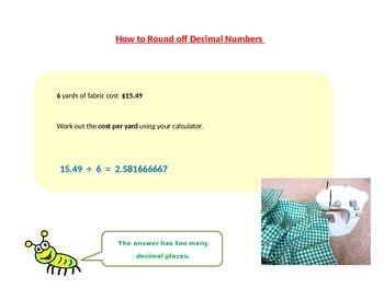 Rounding off Decimals