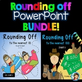 Rounding to the nearest 10 and 100 PowerPoints & Worksheets Bundle